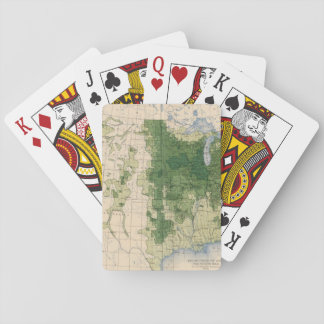 158 Oats/sq mile Playing Cards