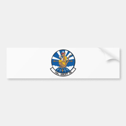 158th Airlift Squadron Bumper Sticker
