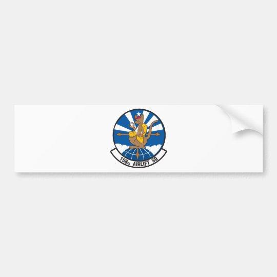 158th Airlift Squadron Bumper Sticker