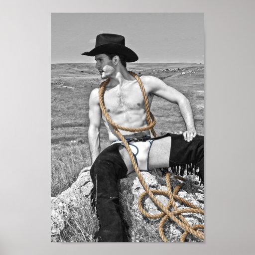 15912-RA Cowboy Poster
