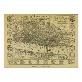 1593 London Poster