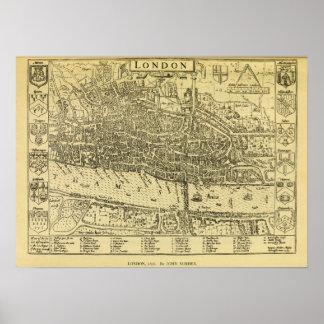 1593 London Poster