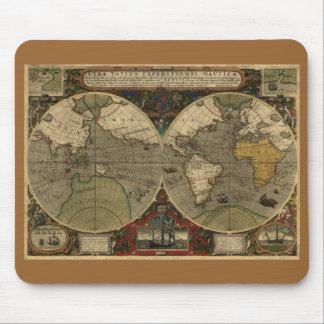 1595 Hondius Map Mousepad