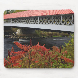 159-foot Ashuelot Covered bridge spanning Mouse Pad