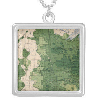159 Oats/acre Silver Plated Necklace