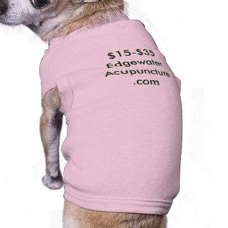$15-$35 Edgewater Acupuncture.com Sleeveless Dog Shirt