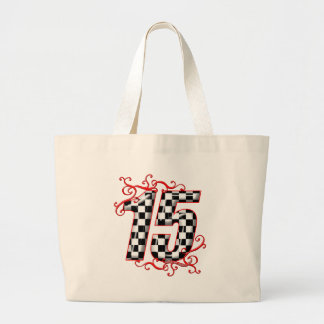 15 auto racing number bag