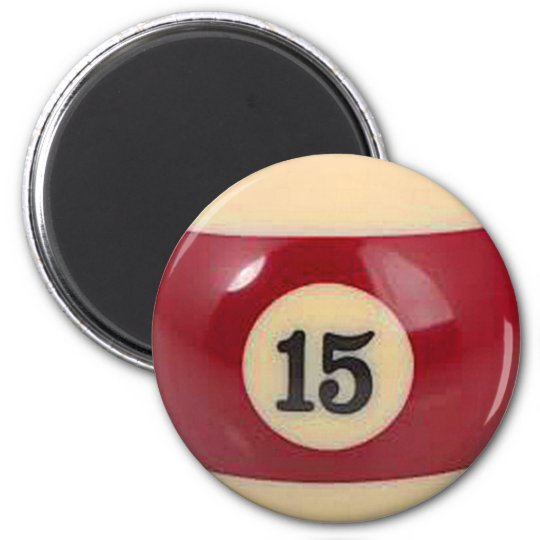 """15 ball"" pool ball design gifts and products"