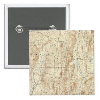15 Clove sheet 15 Cm Square Badge