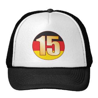 15 GERMANY Gold Cap