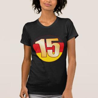 15 GERMANY Gold T-Shirt