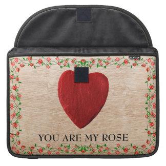 "15"" MacBook bag You of acres my rose Sleeves For MacBooks"