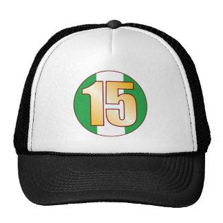15 NIGERIA Gold Cap