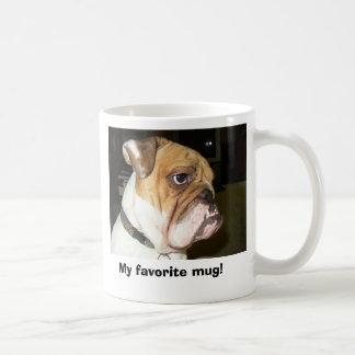 15 oz. Bulldog Coffee Mug