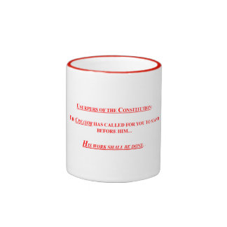 15 oz Coffee Mug w USUPERS OF THE CONSTITUTION