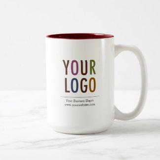 15 oz Custom Mug with Company Logo No Minimum