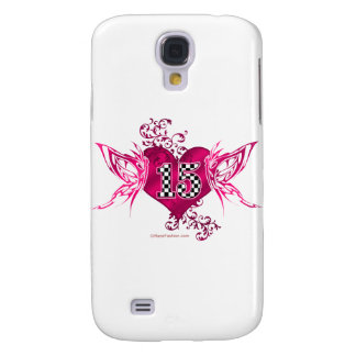 15 race number butterflies galaxy s4 case