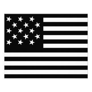 15 Star Us Flag Custom Announcement