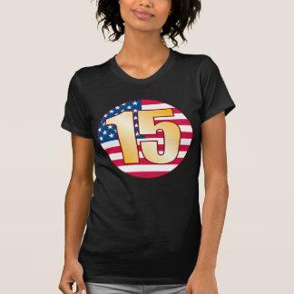 15 USA Gold T-Shirt