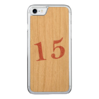 15 years anniversary carved iPhone 8/7 case