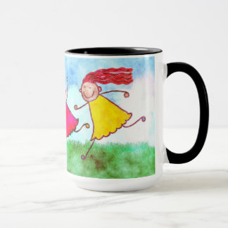 "15oz Combo Coffee Mug ""Fun in the Sun"" By Zazz_it"