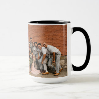 15oz Combo Coffee Mug Wedding Photo By Zazz_it