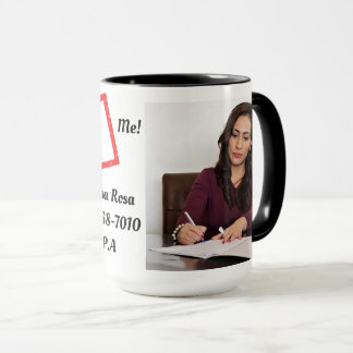 15oz Combo Custom Coffee  Hire 1082 Mug By Zazz_it
