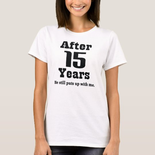 15th Anniversary (Funny) T-Shirt