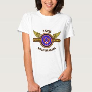 "15TH ARMY AIR FORCE ""ARMY AIR CORPS"" WW II SHIRT"