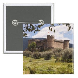 15Th Century Castle Of The Duke Of Alburquerque 15 Cm Square Badge