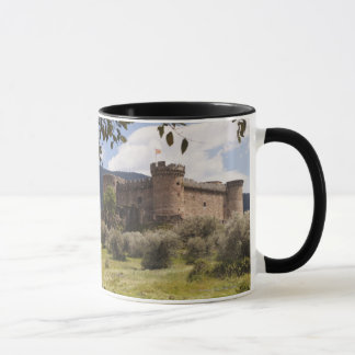 15Th Century Castle Of The Duke Of Alburquerque Mug
