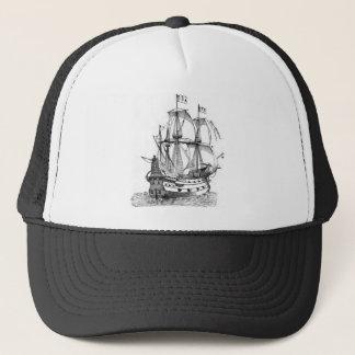 15th_century_galleon trucker hat
