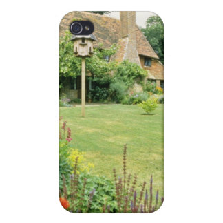 15th Century House With Herbaceous Border f iPhone 4/4S Cover