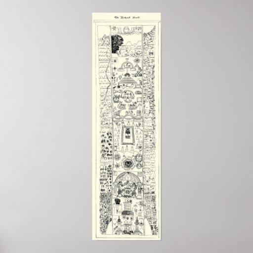 15th Century - Masonic Kirk Wall Scroll Poster