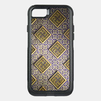15th Century Protective Cool Vintage Pattern OtterBox Commuter iPhone 7 Case