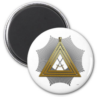 15th Degree: Knight of the East 6 Cm Round Magnet