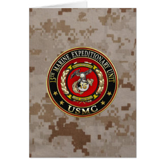 15th Marine Expeditionary Unit (15th MEU) [3D] Card