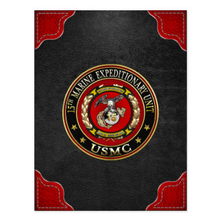 15th Marine Expeditionary Unit (15th MEU) [3D] Postcard