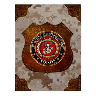 15th Marine Expeditionary Unit (15th MEU) [3D] Postcard