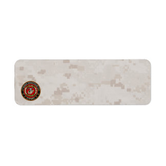 15th Marine Expeditionary Unit (15th MEU) [3D] Return Address Label