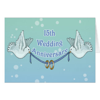 15th Wedding Anniversary Gift Ideas Uk : 15th Anniversary Cards, Photo Card Templates, Invitations & More