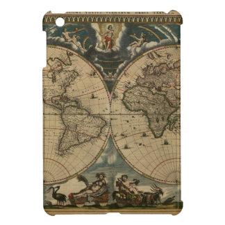 1600s original painted world map iPad mini cover