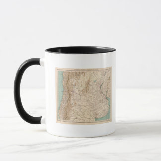 16061 Central Argentina and Chile Mug