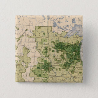160 Rye/sq mile 15 Cm Square Badge