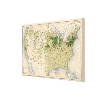 160 Rye/sq mile Canvas Print