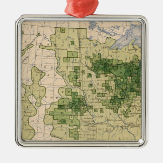 160 Rye/sq mile Christmas Ornament