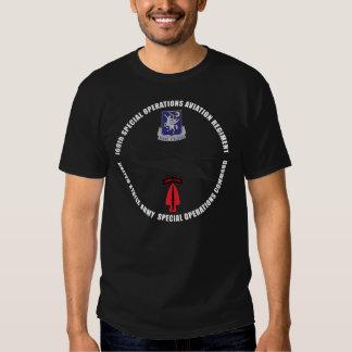 160th SOAR Blackhawk Black Tshirt