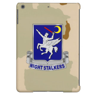 """160th SOAR """"Night Stalkers"""" Army Desert Camo Case For iPad Air"""