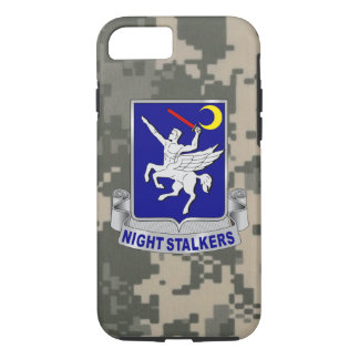 "160th SOAR ""Night Stalkers"" Army Digital Camo iPhone 8/7 Case"