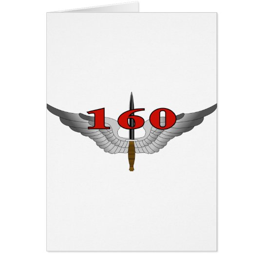 160th Special Operations Aviation Regiment (SOAR) Card